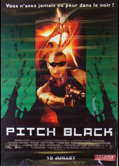 PITCH BLACK affiche du film
