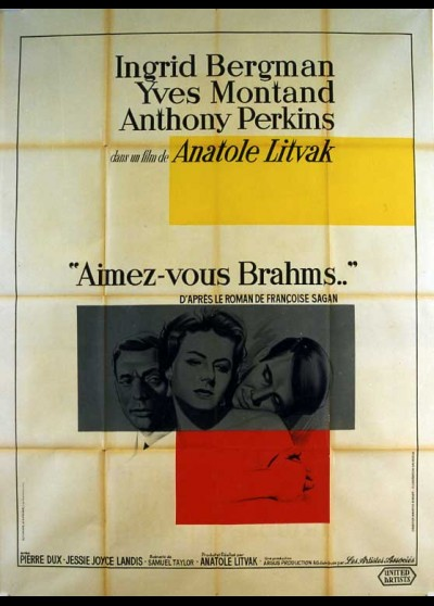 GOODBYE AGAIN movie poster