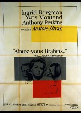 affiche du film AIMEZ VOUS BRAHMS