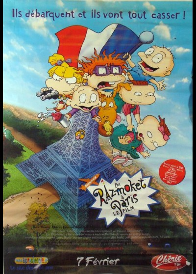 RUGRATS IN PARIS THE MOVIE movie poster