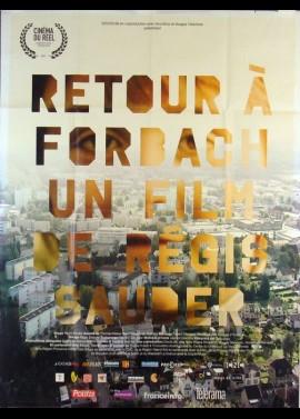 RETOUR A FORBACH movie poster