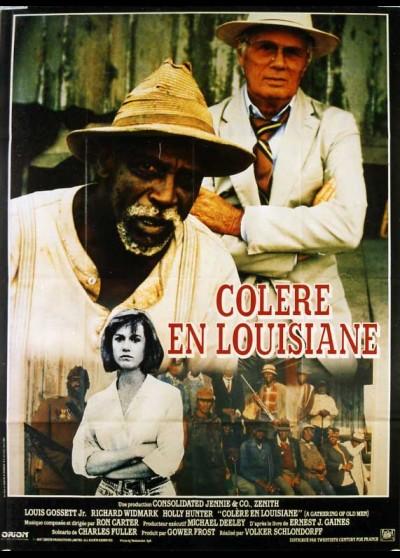 affiche du film COLERE EN LOUISIANE