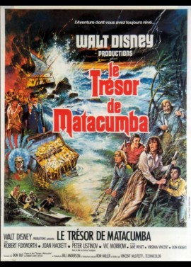 TREASURE OF MATECUMBE movie poster