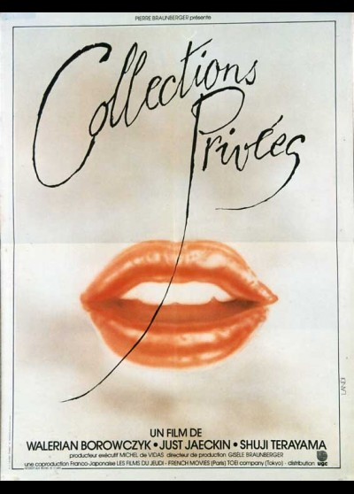 affiche du film COLLECTIONS PRIVEES