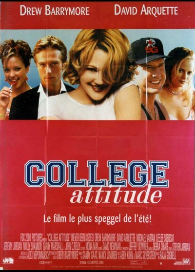 affiche du film COLLEGE ATTITUDE