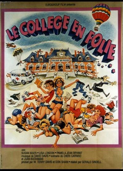 affiche du film COLLEGE EN FOLIE (LE)