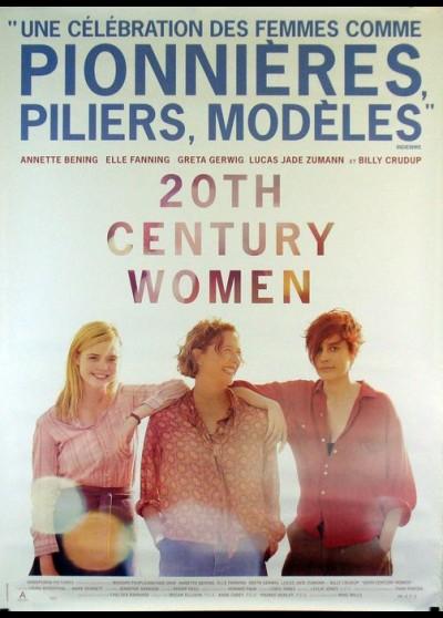 affiche du film TWENTIETH CENTURY WOMEN