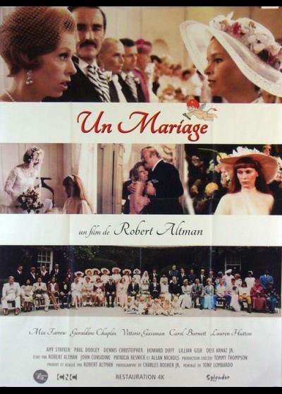 A WEDDING movie poster