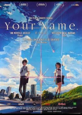 affiche du film YOUR NAME