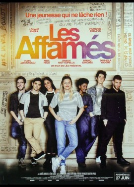AFFAMES (LES) movie poster
