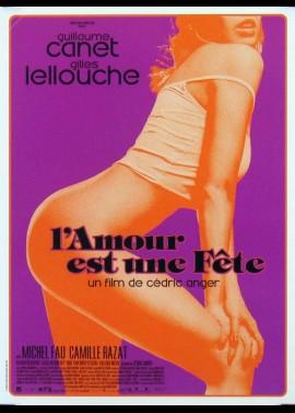 AMOUR EST UNE FETE (L') movie poster