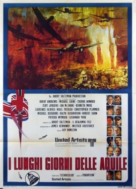 affiche du film BATAILLE D'ANGLETERRE (LA)