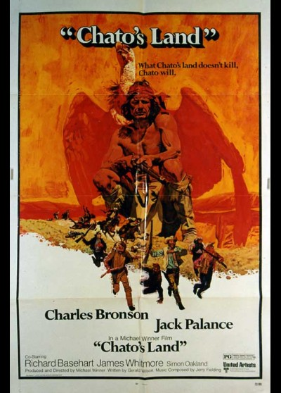 CHATO'S LAND movie poster