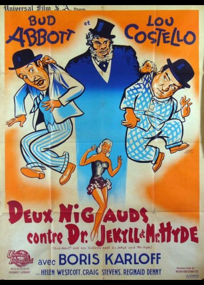 ABBOTT AND COSTELLO MEET DOCTOR JEKYLL AND MISTER HYDE movie poster