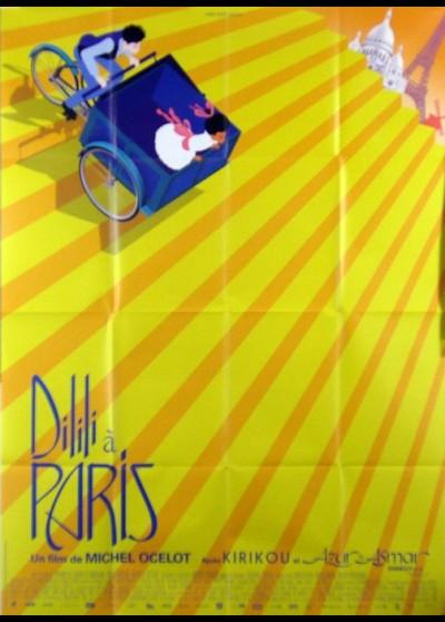 affiche du film DILILI A PARIS