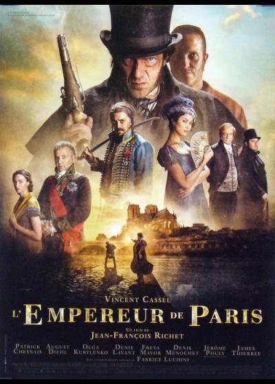 affiche du film EMPEREUR DE PARIS (L')