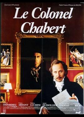 affiche du film COLONEL CHABERT (LE)