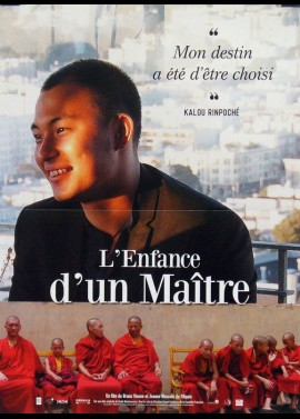 affiche du film ENFANCE D'UN MAITRE (L')