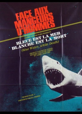 BLUE WATER WHITE DEATH movie poster