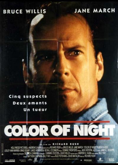 affiche du film COLOR OF NIGHT