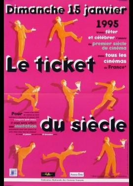 affiche du film FESTIVAL LE TICKET DU SIECLE