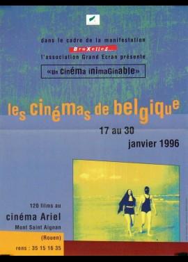 affiche du film FESTIVAL LES CINEMAS DE BELGIQUE