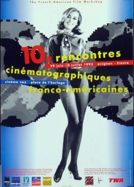 affiche du film FESTIVAL RENCONTRES CINEMATOGRAPHIQUES FRANCO AMERICAINES