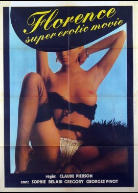 FLORENCE SUPER EROTIC MOVIE movie poster
