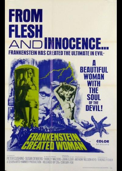 affiche du film FRANKENSTEIN CREA LA FEMME