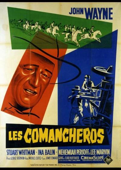 affiche du film COMANCHEROS (LES)