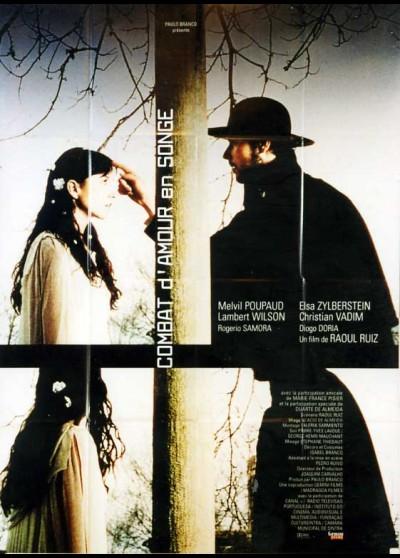 affiche du film COMBAT D'AMOUR EN SONGE