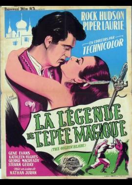 affiche du film LEGENDE DE L'EPEE MAGIQUE (LA)