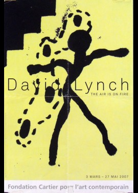affiche du film EXPOSITION DAVID LYNCH AIR IS ON FIRE