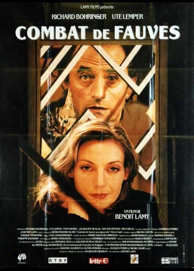 affiche du film COMBAT DE FAUVES