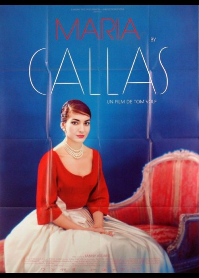 affiche du film MARIA BY CALLAS