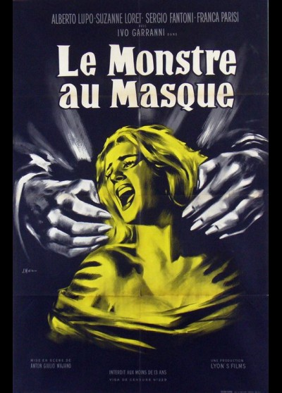 affiche du film MONSTRE AU MASQUE (LE)