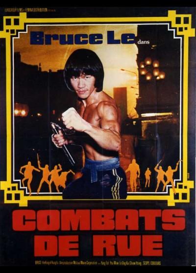 affiche du film COMBATS DE RUE