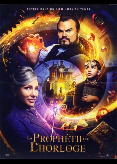 HOUSE WITH A CLOCK IN ITS WALLS (THE) movie poster