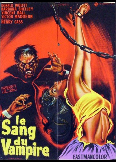 BLOOD OF THE VAMPIRE movie poster