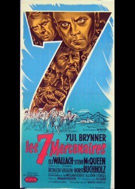 MAGNIFICENT SEVEN (THE) movie poster