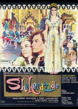 SHEHERAZADE movie poster