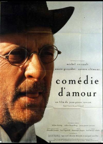 affiche du film COMEDIE D'AMOUR