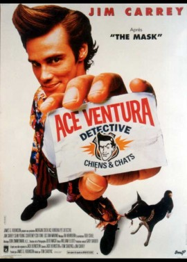 ACE VENTURA PET DETECTIVE movie poster
