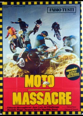 affiche du film MOTO MASSACRE