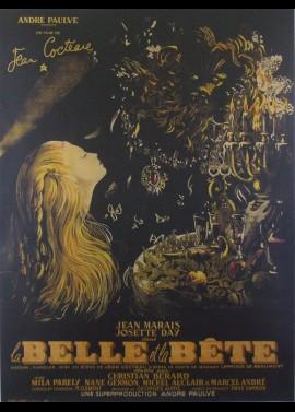 BELLES ET LA BETE (LA) movie poster