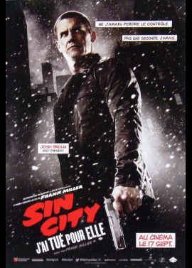 SIN CITY A DAME TO KILL FOR movie poster