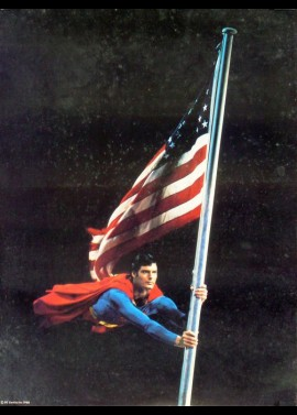 SUPERMAN movie poster