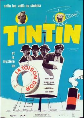 TINTIN ET LE MYSTERE DE LA TOISON D'OR movie poster