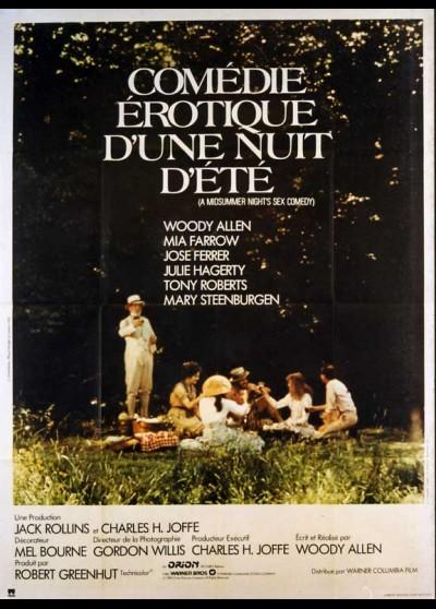 A MIDSUMMER NIGHT'S SEX COMEDY movie poster