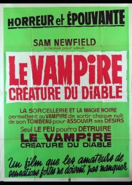 affiche du film VAMPIRE CREATURE DU DIABLE (LE)